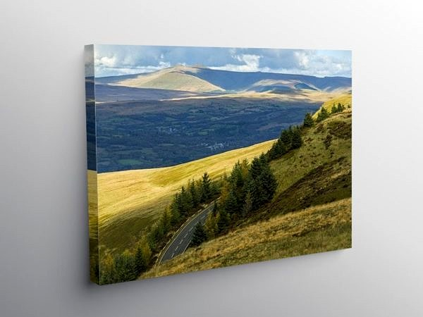 From the Rhigos to the Beacons, Canvas Print