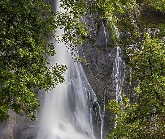 Aber Falls at Abergwyngregyn North Wales