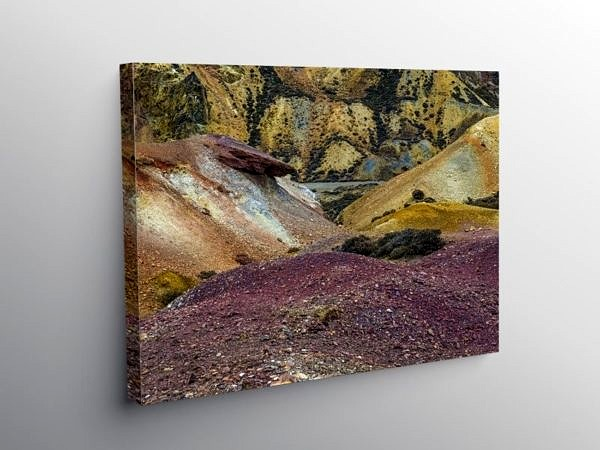 Parys Mountain Copper Mine on Anglesey, Canvas Print