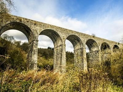Pontsarn Viaduct just north of Merthyr Tydfil