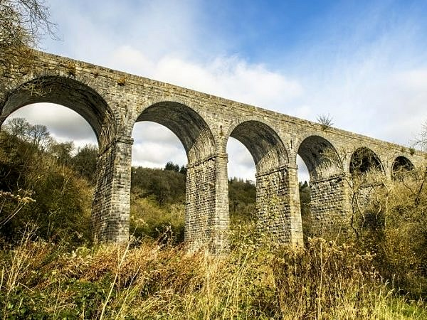 Pontsarn Viaduct just north of Merthyr Tydfil