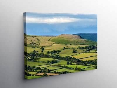 Crug Hywel Hillfort Black Mountains, Canvas Print