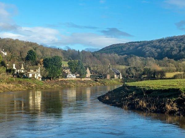 The River Wye at Tintern Parva