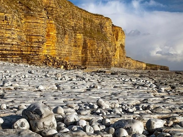 Llantwit Major Beach Glamorgan Coast