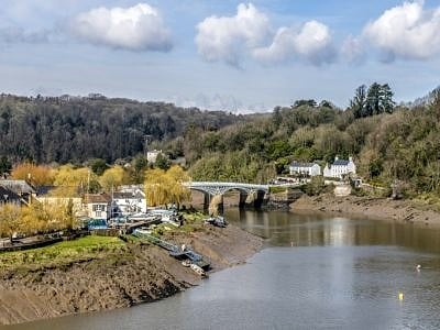 The River Wye at Chepstow