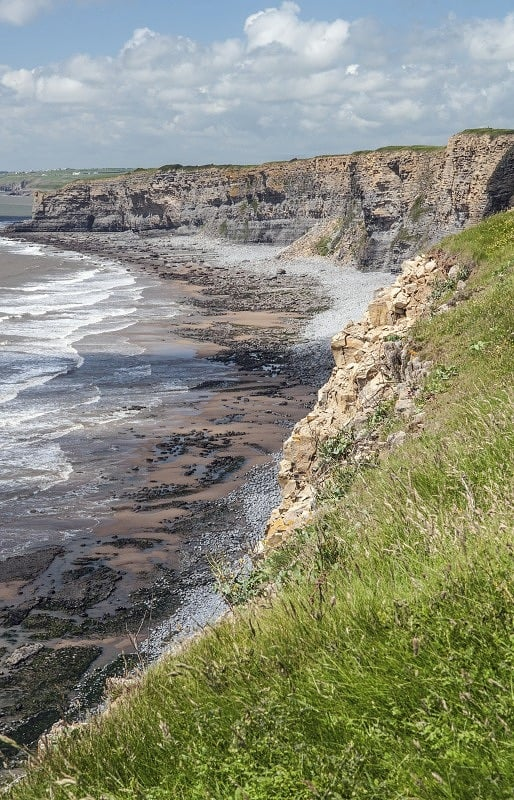 Glamorgan Heritage Coast Path above Nash Point