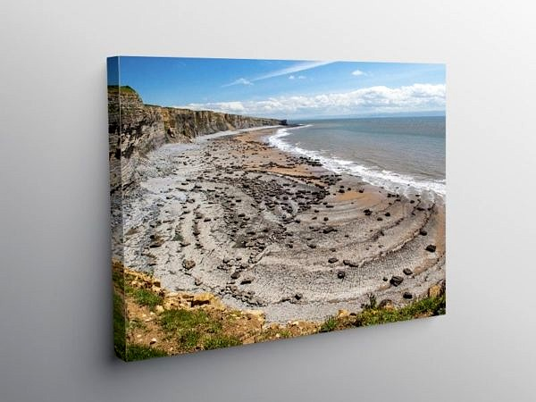 Glamorgan Heritage Coast from Southerndown, Canvas Print