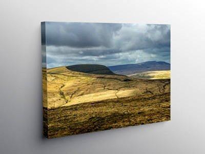 Fan Gyhirych in Fforest Fawr Brecon Beacons, Canvas Print