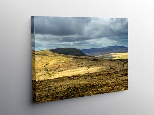 Fan Gyhirych in Fforest Fawr Brecon Beacons, Canvas Print