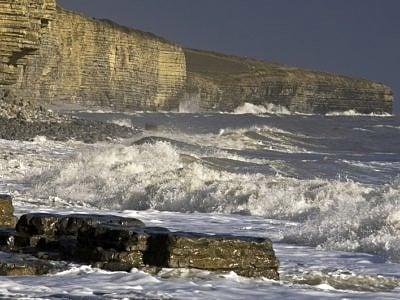 Nick Jenkins Storm on Llantwit Major Beach CoW. jpg