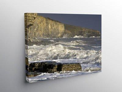 Storm on Llantwit Major Beach, Canvas Print