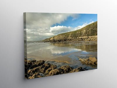 Dunraven Bay Glamorgan Heritage Coast, Canvas Print