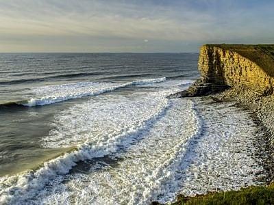 Nash Point Beach Glamorgan Heritage Coast