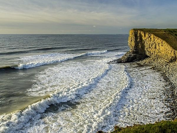 Nash Point Beach Glamorgan Heritage Coast