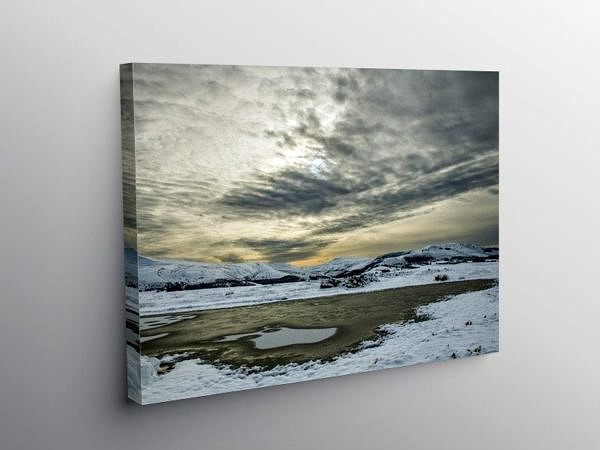 Brecon Beacons View from Mynydd Illtyd Common, Canvas Print
