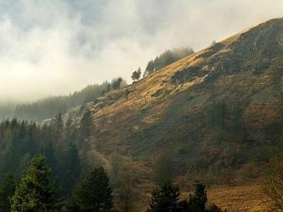 The Hills above Blaencwm Rhondda Fawr