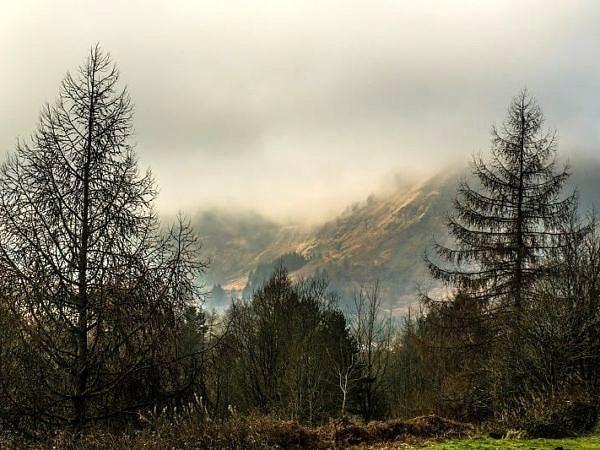 Hills above Blaencwm Rhondda