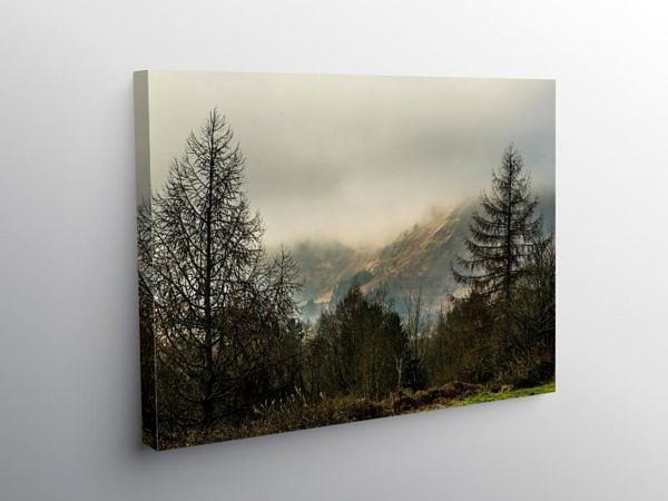 Hills above Blaencwm Rhondda, Canvas Print