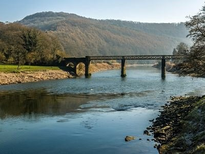 The Old Railway Bridge at Tintern Wye Valley