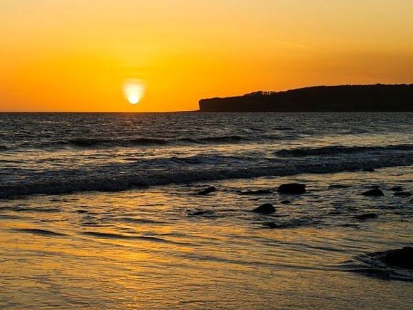 Sunset from Llantwit Major Beach