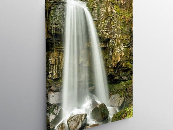 Melincourt Falls Vale of Neath, Canvas Print