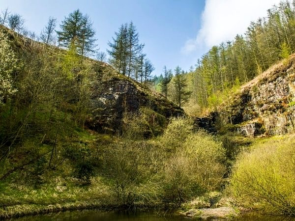 Top end of Clydach Vale Rhondda South Wales