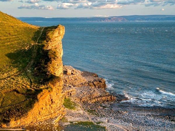 Cwm Nash Beach Glamorgan Heritage Coast