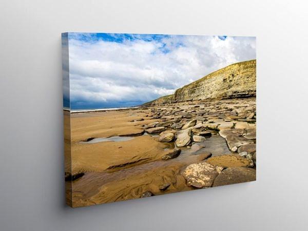 Dunraven Bay Southerndown Glamorgan Heritage Coast, Canvas Print