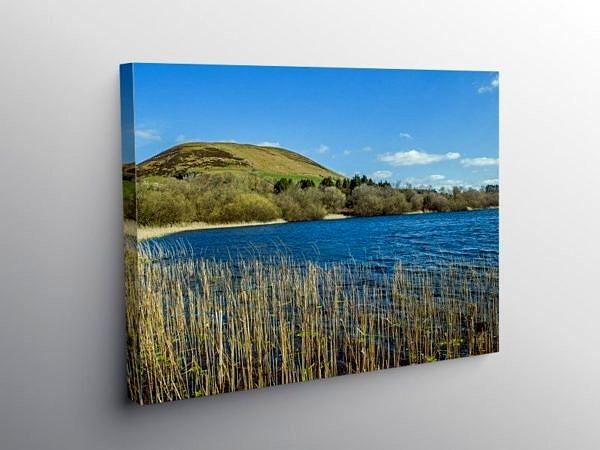 Llanbwchllyn Lake Radnorshire Powys, Canvas Print