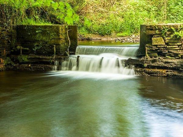 Water Cascade Lliw Valley Swansea