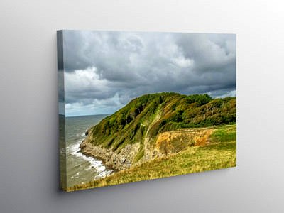 Trwyn y Witch Dunraven Bay Glamorgan Heritage Coast, Canvas Print