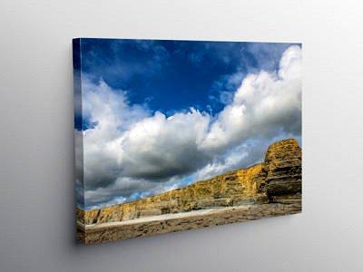 The Cliffs at Nash Point Glamorgan Heritage Coast, Canvas Print