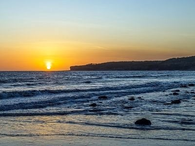 Sunset from Llantwit Major Beach
