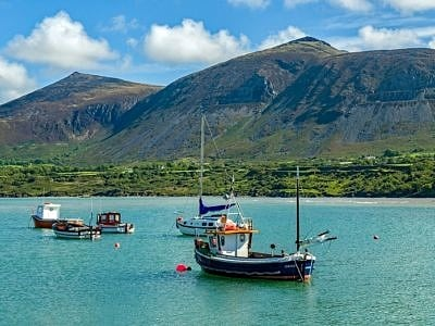 Trefor on the Lleyn Peninsula North Wales