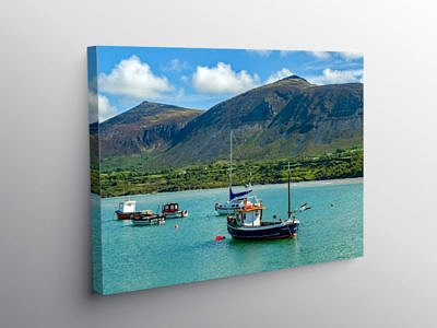 Trefor on the Lleyn Peninsula North Wales, Canvas Print