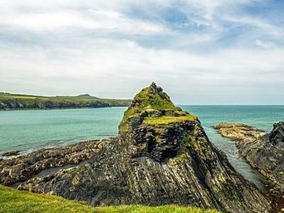 Abereiddi Bay noth Pembrokeshire