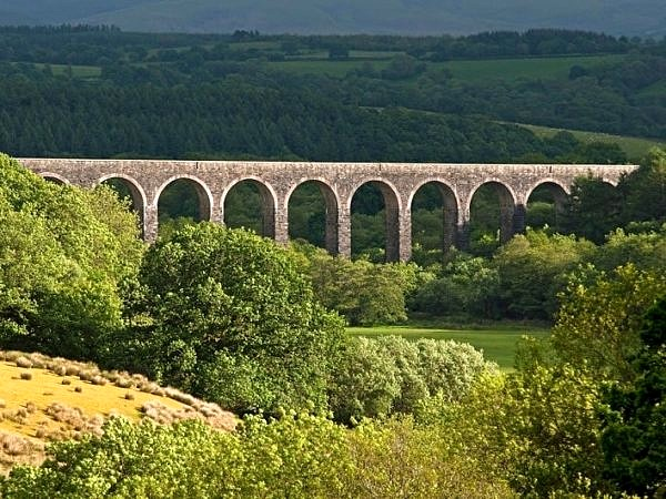 Cynghordy Viaduct Carmarthenshire Mid Wales
