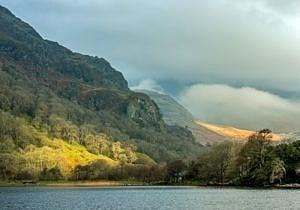 Llyn Gwynant and Mountains Snowdonia