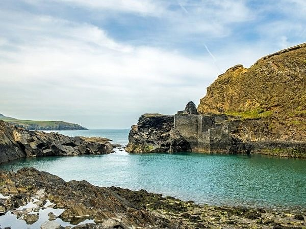 The Blue Lagoon Abereiddy north Pembrokeshire