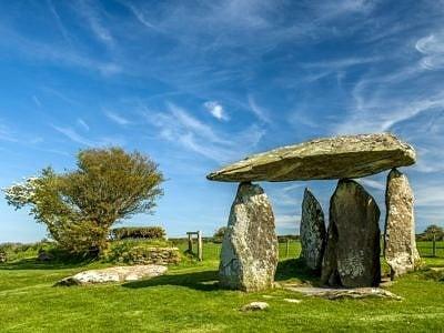 Pentre Ifan Burial Chamber Presceli Hills Pembrokeshire