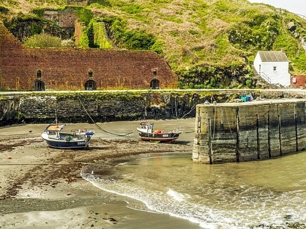 Porthgain Harbour on the Pembrokeshire Coast