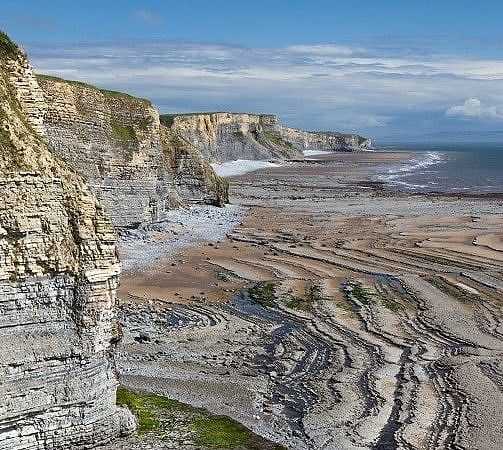 The Glamorgan Heritage Coast from Southerndown