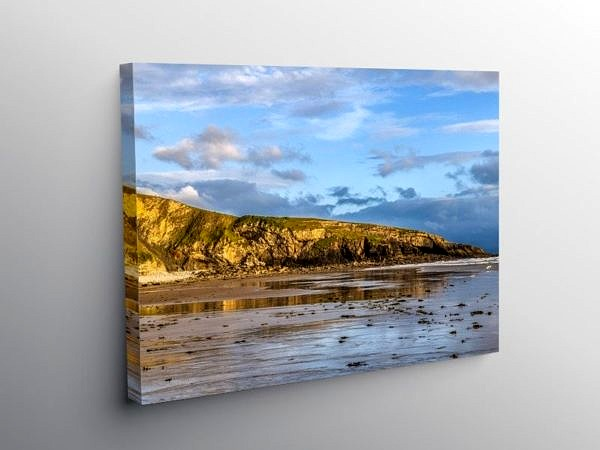 The Witches Nose at Dunraven South Wales, Canvas Print