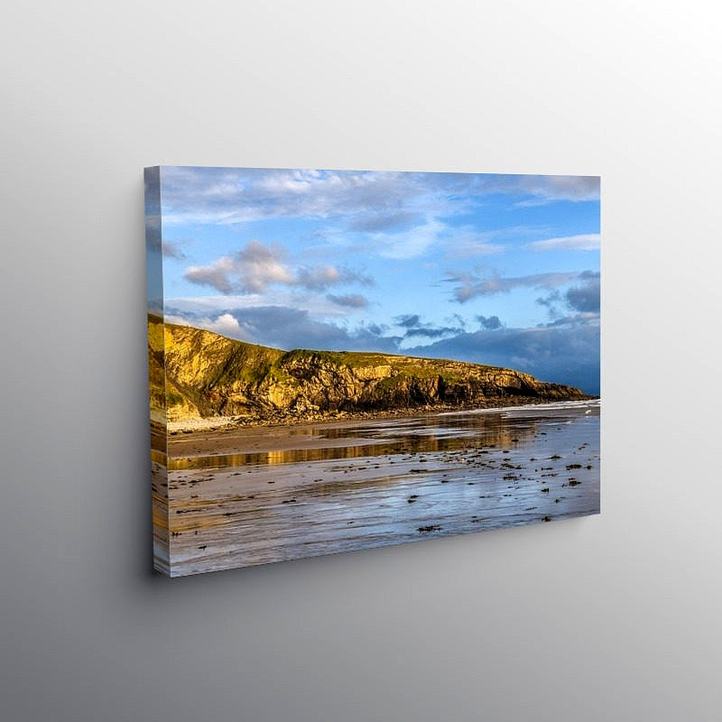 The Witch's Nose at Dunraven Bay South Wales, Canvas Print