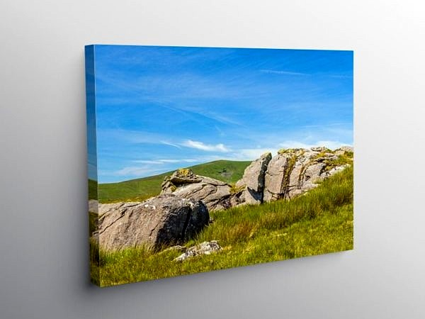 From Carn Menyn to Foel Cwmcerwyn, Canvas Print