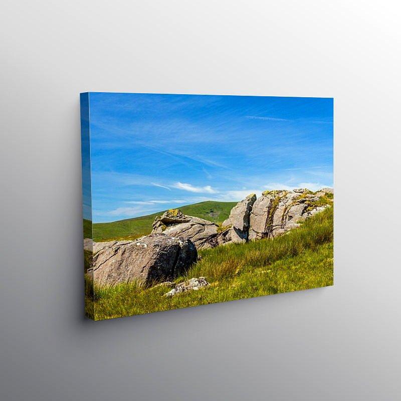 From Carn Menyn to Foel Cwmcerwyn, Canvas Print