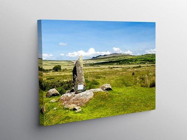 Foel Drygarn Preseli Hills Pembrokeshire, Canvas Print