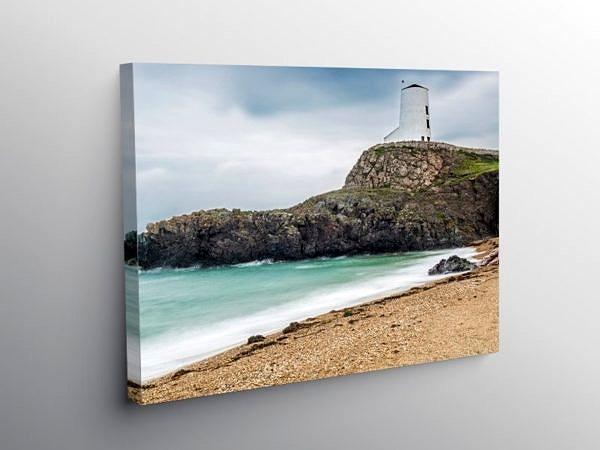 Beach Llanddwyn Island Anglesey, Canvas Print