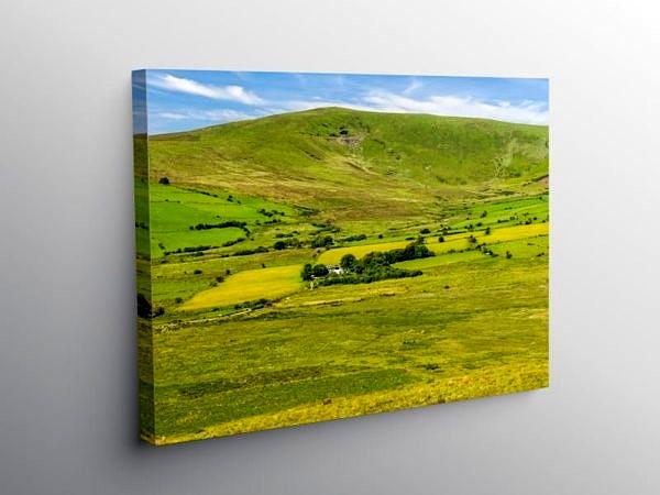 Foel Cwmcerwyn Preseli Hills Pembrokeshire, Canvas Print