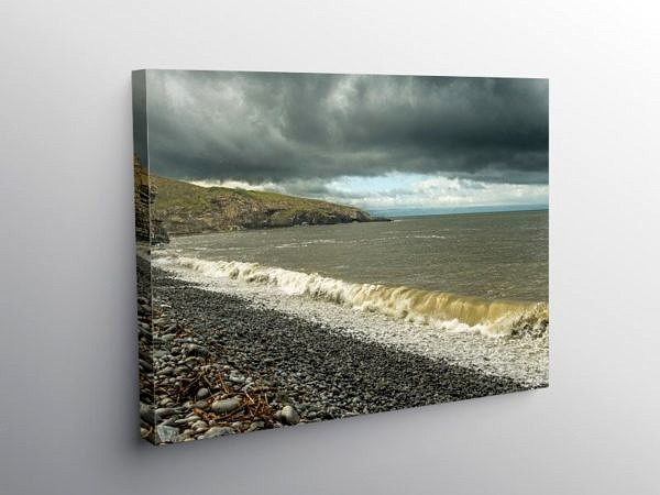 The Breaking Wave Dunraven Bay, Canvas Print